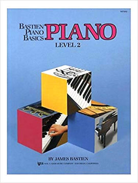 Bastien Piano Basics Level 2 James Bastien KJWP202