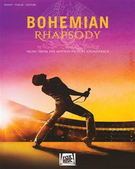 Bohemian Rhapsody Songbook Queen Freddie Mercury Piano Vocal Guitar