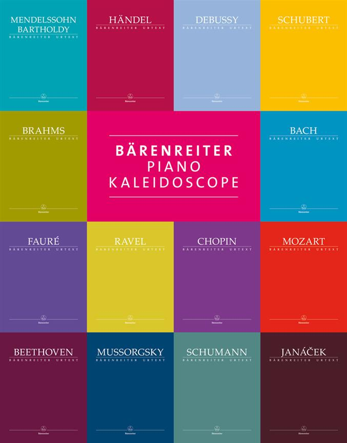 Piano Kaleidoscope Barenreiter Urtext Bach Chopin and Other Composers BA 10900