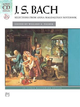 Bach Selections from Anna Magdalena's Notebook Book + CD Alfred Masterwork