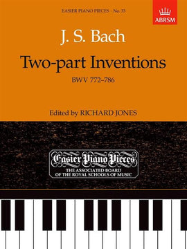 Bach Two-Part Inventions BWV 772-786 Inc. No. 8 in F BWV 779 Grade 5 ABRSM