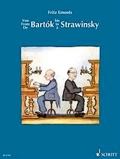 From Bartók to Stravinsky Schott  Orff No.1 (from Two Pieces) Initial Grade ED 4769