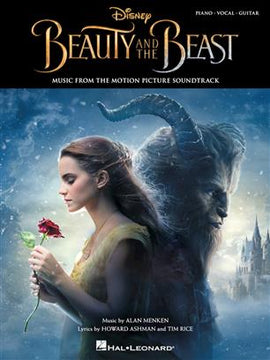 Beauty and the Beast Piano Vocal Guitar Music from the Film Soundtrack