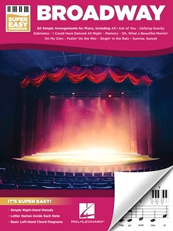 Broadway - Super Easy Songbook 60 Simple Arrangements For Piano