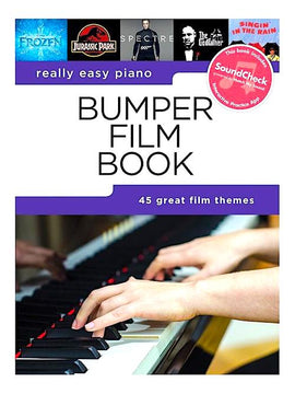 Really Easy Piano Bumper Film Book 45 Film Themes Songbook HLE90004915
