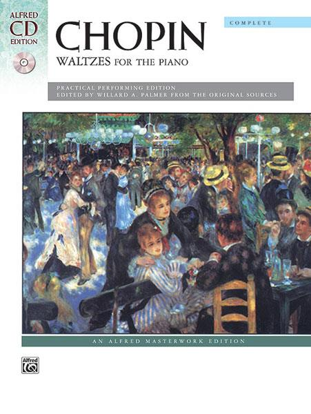 Chopin Waltzes for the Piano Book + CD Alfred Masterwork  9780739047552