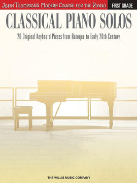 Classical Piano Solos First Grade 20 Piano Pieces 9781480344914