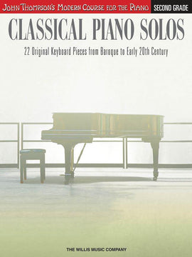 Classical Piano Solos Second Grade 22 Piano Pieces 9781480344921