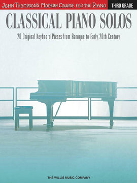Classical Piano Solos, Third Grade, 20 Piano Pieces, 9781480344938