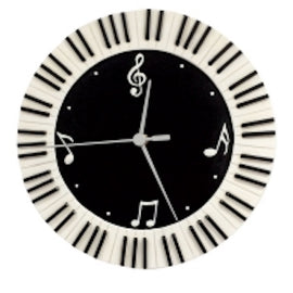 Clock Round Keyboard Wall Clock HD1012