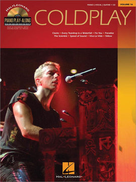 Coldplay Songbook Piano Vocal Guitar Book + CD 9781458494368