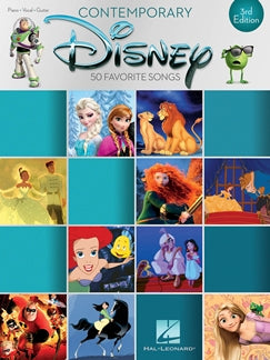 Contemporary Disney 50 Favourite Songs Piano Vocal Guitar 9781495074196