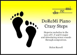 Crazy Steps DoReMi Piano Helen Russell DRM02