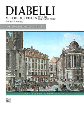 Diabelli Melodious Pieces on Five Notes Op. 149 Alfred Masterwork Editions 4837