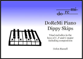 Dippy Skips DoReMi Piano Helen Russell DRM03