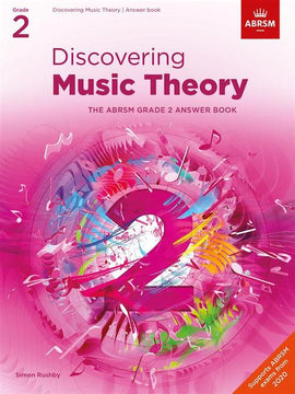 Discovering Music Theory - Grade 2 Answers ABRSM