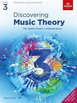 Discovering Music Theory - Grade 3 Answers ABRSM