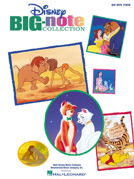 Disney Big-Note Collection 40 Disney Favourites simple arrangements for Piano