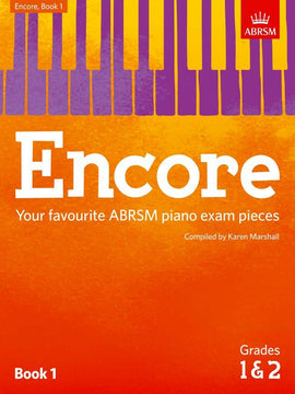 Encore Book 1 Grades 1 & 2 Piano ABRSM Karen Marshall