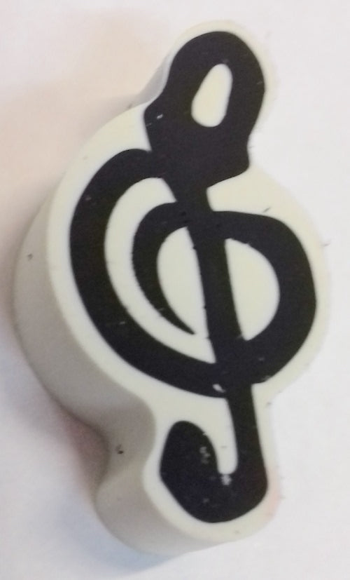 Eraser Treble Clef Musical Gift Rubber Twin Pack 5025966583522