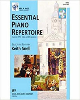 Essential Piano Repertoire Level 2 Keith Snell 9780849763526