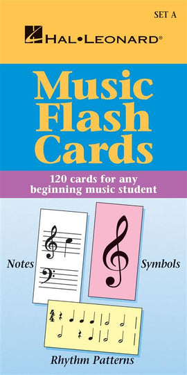 Hal Leonard Flashcards 120 Flash Cards For Beginners Set A 'American' note names