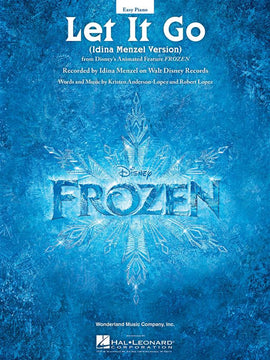 Let It Go from Disney Animated Feature Frozen Easy Piano Sheet Music HL00140822
