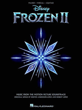 Frozen II Piano Vocal Guitar Songbook Music from the Motion Picture Soundtrack