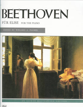 Für Elise, Beethoven, Piano Sheet Music, Alfred Masterworks, 9780739013229