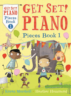 Get Set Piano Pieces Book 1 Hammond & Marshall  9781408192771