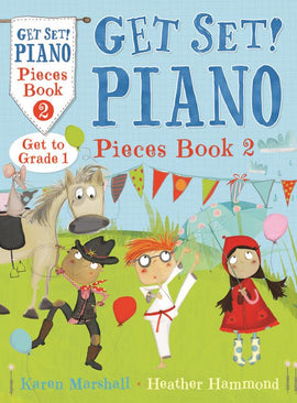 Get Set Piano Pieces Book 2 Hammond & Marshall  9781408192788