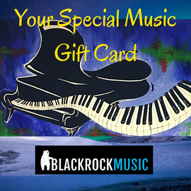 Blackrock Music UK Gift Card - £10.00 Value