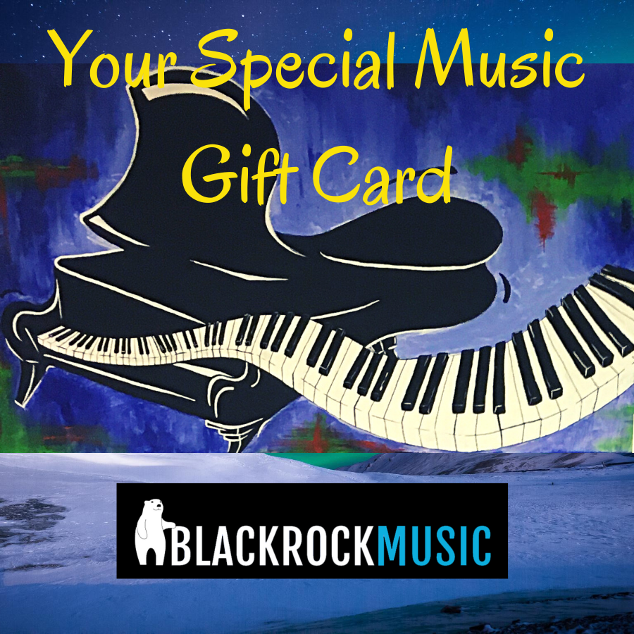 Blackrock Music UK Gift Card - £30.00 Value