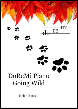 Going Wild DoReMi Piano Helen Russell DRM07