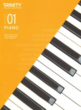 Trinity Piano 2018-2020 Grade 1  Book Only, Pieces & Exercises TCL016591