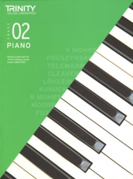 Trinity Piano 2018-2020 Grade 2  Book Only Pieces & Exercises TCL016607
