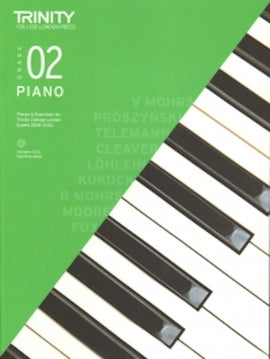 Trinity Piano 2018-2020 Grade 2  Book + CD, Pieces & Exercises TCL016690
