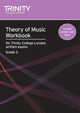Trinity Theory Of Music Workbook Grade 3 TG006523