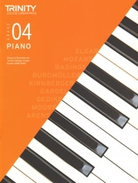 Trinity Piano 2018-2020 Grade 4  Book Only, Pieces & Exercises TCL016621