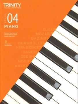 Trinity Piano 2018-2020 Grade 4  Book + CD, Pieces & Exercises TCL016713