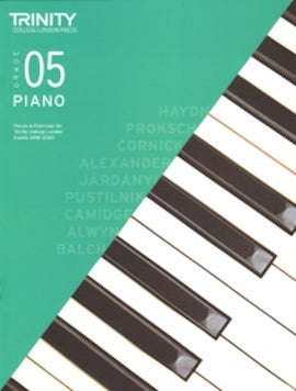 Trinity Piano 2018-2020 Grade 5  Book Only, Pieces & Exercises TCL016638