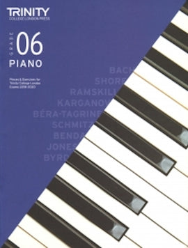 Trinity Piano 2018-2020 Grade 6  Book Only, Pieces & Exercises TCL016645