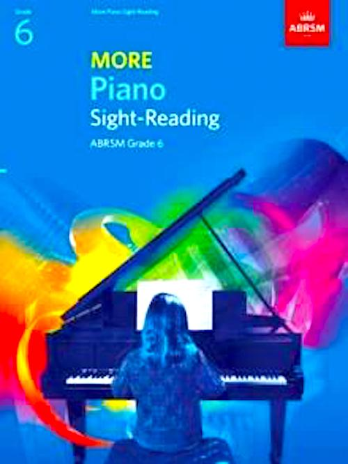More Piano Sight-Reading  Grade 6 ABRSM  9781786012876