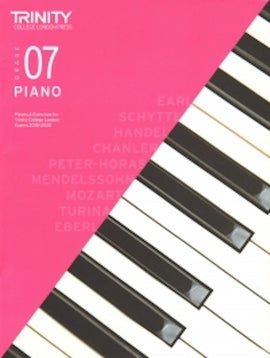 Trinity Piano 2018-2020 Grade 7  Book Only Pieces & Exercises TCL016652
