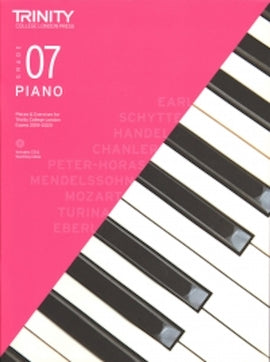 Trinity Piano 2018-2020 Grade 7  Book + CD Pieces & Exercises TCL016744