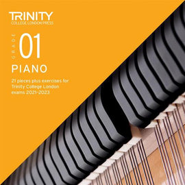 Trinity Piano Exam Pieces & Exercises 2021-2023 Grade 1 CD Only TCL021045