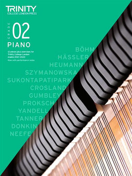 Trinity Piano Exam Pieces & Exercises 2021-2023 Grade 2 Book Only TCL020253