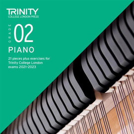 Trinity Piano Exam Pieces & Exercises 2021-2023 Grade 2 CD Only TCL021052