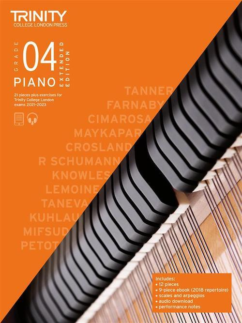 Trinity Pack 4 Initial - Grade 5 Piano 2021-23 - Extended Editions