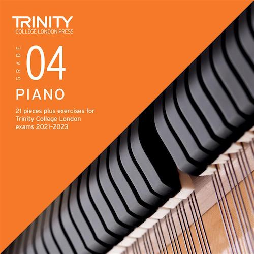 Trinity Piano Exam Pieces & Exercises 2021-2023 Grade 4 CD Only TCL021076